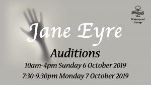Jane Eyre audition dates